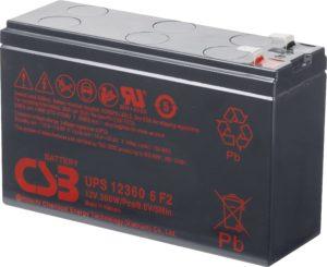 battery csb ups123606f2