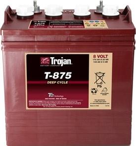 Battery Trojan T875