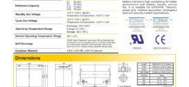 Battery Ritar RA12-75 PJU tenaga surya