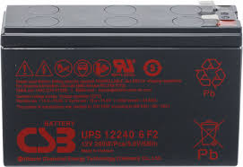 Battery CSB Type UPS 12460 6 F2