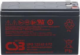 Battery CSB Type UPS 12460 6 F2